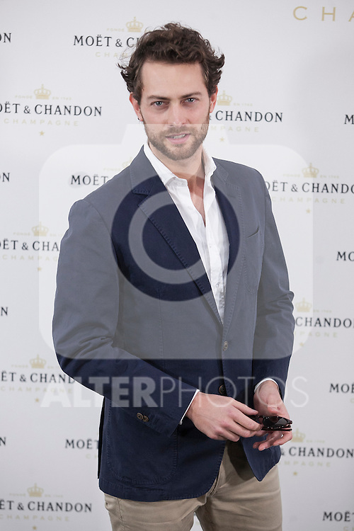 Peter Vives poses during Moet & Chandon event in Madrid, Spain. May 05, 2015. (ALTERPHOTOS/Victor Blanco)