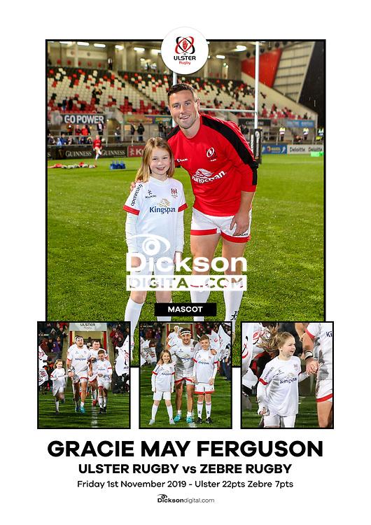 Ulster Mascots vs Cardiff Kingspan Stadium, Ravenhill Park, Belfast, Northern Ireland. Photo by John Dickson / DICKSONDIGITAL