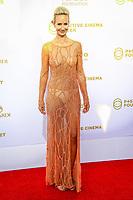 Lady Victoria Hervey, photocall d'arrivée pour la cérémonie de remise des prix de la Fondation Positive Planet de Jacques Attal, lors du soixante-dixième (70ème) Festival du Film à Cannes, Palm Beach, Cannes, Sud de la France, mercredi 24 mai 2017.