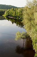 Die Gauja bei Sigulda im Gauja-Nationalpark, Lettland, Europa