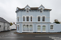 Two flats in former post office on the market after their owners met and fell in love there.