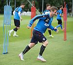 David Templeton enjoying training