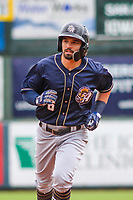 San Antonio Missions outfielder Nate Orf (6) rounds the bases during a Pacific Coast League game against the Iowa Cubs on May 2, 2019 at Principal Park in Des Moines, Iowa. Iowa defeated San Antonio 8-6. (Brad Krause/Four Seam Images)