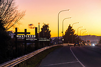 Dawn in Masterton, New Zealand on Friday, 4 August 2020. Photo: Dave Lintott / lintottphoto.co.nz