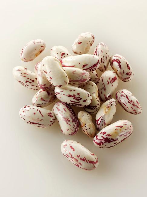Fresh Borlotti beans