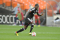 Washington, D.C.- March 29, 2014. Eddie Johnson. The Chicago Fire tied D.C. United 2-2 during a Major League Soccer Match for the 2014 season at RFK Stadium.