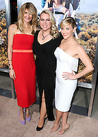 BEVERLY HILLS, CA, USA - NOVEMBER 19: Laura Dern, Cheryl Strayed, Reese Witherspoon arrive at the Los Angeles Premiere Of Fox Searchlight Pictures' 'Wild' held at the AMPAS Samuel Goldwyn Theater on November 19, 2014 in Beverly Hills, California, United States. (Photo by Xavier Collin/Celebrity Monitor)
