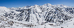Freas snow and blue skies at Alta ski area in the Wasatch