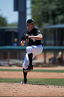AZL White Sox relief pitcher Declan Cronin (51) during an Arizona League game against the AZL Athletics Gold on July 4, 2019 at Camelback Ranch in Glendale, Arizona. The AZL White Sox defeated the AZL Athletics Gold 6-2. (Zachary Lucy/Four Seam Images)