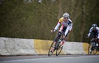 Liège-Bastogne-Liège 2013..race leader Bart De Clercq (BEL)