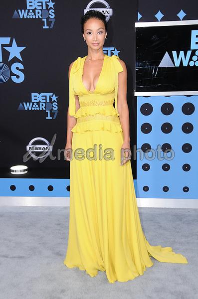 25 June 2017 - Los Angeles, California - Draya Michelle. 2017 BET Awards held at the Microsoft Square in Los Angeles. Photo Credit: Birdie Thompson/AdMedia