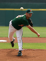 June 9, 2005:  Pitcher Kyle Denney of the Buffalo Bisons during a game at Dunn Tire Park in Buffalo, NY.  Buffalo is the International League Triple-A affiliate of the Cleveland Indians.  Photo by:  Mike Janes/Four Seam Images