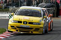 Round 10 of the 2005 British Touring Car Championship. #57. Luke Hines (GBR). SEAT Sport UK. SEAT Toledo.