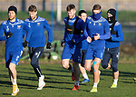 St Johnstone Training 22.12.20