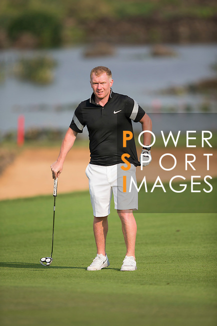 Paul Scholes during the World Celebrity Pro-Am 2016 Mission Hills China Golf Tournament on 23 October 2016, in Haikou, Hainan province, China. Photo by Victor Fraile / Power Sport Images