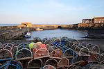 Lobster Pots, Craster Harbour, Northumberland, UK