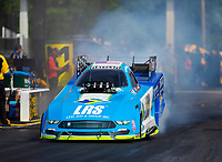 May 4, 2018; Commerce, GA, USA; NHRA funny car driver Tim Wilkerson during qualifying for the Southern Nationals at Atlanta Dragway. Mandatory Credit: Mark J. Rebilas-USA TODAY Sports