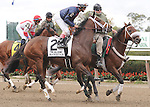 Maristar, ridden by John Velazquez, runs in the Beldame Invitational Stakes (GI) at Belmont Park in Elmont, New York on September 29, 2012.  (Bob Mayberger/Eclipse Sportswire)