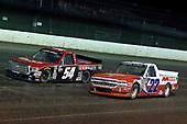 #54: Chris Windom, DGR-Crosley, Toyota Tundra Baldwin Brothers / CROSLEY BRANDS an #22: Austin Self, AM Racing, Chevrolet Silverado GO TEXAN