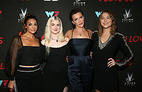 WEST HOLLYWOOD, CA - SEPTEMBER 13: Courtney Lopez, Harlow Jane, Katie Cassidy and Jasper Polish, at the LA Premiere Screening Of I Love Us at Harmony Gold in West Hollywood, California on September 13, 2021. Credit: Faye Sadou/MediaPunch