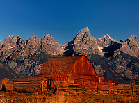 749450340 the john moulton homesteaders barn below the teton range in grand tetons national park wyoming