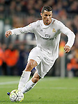Real Madrid's Cristiano Ronaldo during La Liga match. April 2,2016. (ALTERPHOTOS/Acero)