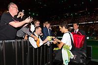 Rotterdam, The Netherlands, 17 Februari, 2018, ABNAMRO World Tennis Tournament, Ahoy, Tennis, Roger Federer (SUI)<br /> <br /> Photo: www.tennisimages.com