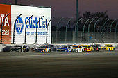 Monster Energy NASCAR Cup Series<br /> Daytona 500<br /> Daytona International Speedway, Daytona Beach, FL USA<br /> Sunday 18 February 2018<br /> Aric Almirola, Stewart-Haas Racing, NAPA Auto Parts Ford Fusion and Denny Hamlin, Joe Gibbs Racing, FedEx Express Toyota Camry lead<br /> World Copyright: Barry Cantrell<br /> LAT Images