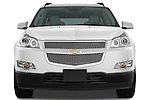 Straight front view of a 2009 Chevrolet Traverse LTZ