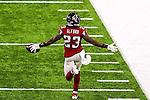 Atlanta Falcons cornerback Robert Alford (23) in action during Super Bowl LI at the NRG Stadium in Houston, Texas.