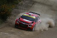 21st May 2021, Arganil, Portugal. WRC Rally of Portugal;  Mads Otsberg-Citroen C3 WRC2