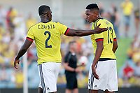 Colombia's Cristian Eduardo Zapata (l) and Yerri Mina during international friendly match. June 13,2017.(ALTERPHOTOS/Acero) (NortePhoto.com) (NortePhoto.com)
