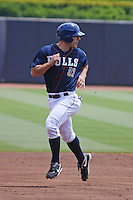 Durham Bulls infielder Russ Canzler #37 running the bases during a game versus the Louisville Bats at Durham Bulls Athletic Park in Durham, North Carolina on May 18, 2011. Durham defeated Louisville by the score of 7-4.    Robert Gurganus/Four Seam Images
