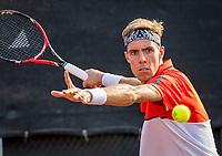 Rotterdam, Netherlands, August 22, 2017, Rotterdam Open, Scott Griekspoor (NED)<br /> Photo: Tennisimages/Henk Koster