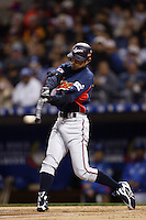 Ichiro Suzuki of Japan during World Baseball Championship at Petco Park in San Diego,California on March 18, 2006. Photo by Larry Goren/Four Seam Images