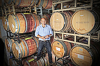 Michael Snaps is the owner of Wineworks located in Albemarle County, VA. Photo/Andrew Shurtleff