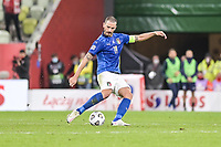 Danzica Nations League Gruppo A Polonia Italia Football - UEFA Nations League group A match Poland - Italy N/Z LEONARDO BONUCCI SYLWETKA FOT MATEUSZ SLODKOWSKI / FOTONEWS / NEWSPIX.PL --- Newspix.pl PUBLICATIONxNOTxINxPOL 20201011FNMS118 <br /> ITALY ONLY