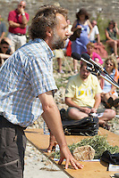 Denis BEAULIER, agriculteur et eleveur, membre du collectif Eau pure