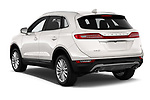 Car pictures of rear three quarter view of a 2019 Lincoln MKC Base 5 Door SUV angular rear