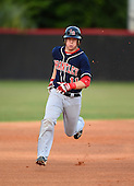 Lake Brantley Patriots third baseman Griffin Bernardo (11) during a game against the Lake Mary Rams on April 2, 2015 at Allen Tuttle Field in Lake Mary, Florida.  Lake Brantley defeated Lake Mary 10-5.  (Mike Janes Photography)