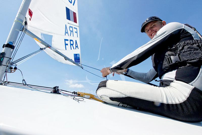 Rio de Janeiro Olympic Test Event - Fédération Française de Voile. Laser, Jean-Baptiste Bernaz.