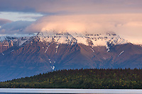 Mount Katolinat, Kejulik mountains, Katmai National Park, Alaska.