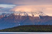 Mount Katolinat, Kejulik mountains, Katmai National Park, Alaska.