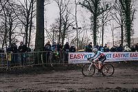 Siobhan Kelly (CAN)<br /> <br /> Women U23 Race<br /> UCI CX Worlds 2018<br /> Valkenburg - The Netherlands