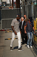 LeBron James Spotted at Jimmy Kimmel Live In Hollywood