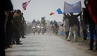 111th Paris-Roubaix 2013..Stijn Vandenbergh (BEL) & Sep Vanmarcke (BEL).
