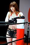 Saki Akai,<br /> APRIL 25, 2015 - Pro-Wrestling : Professional wrestler Saki Akai is seen during the Niconico Chokaigi 2015 at Makuhari Messe in Chiba, Japan.<br /> (Photo by Rodrigo Reyes Marin/AFLO)