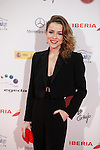 Actress Silvia Abascal attends Jose Maria Forque Awards photocall at Municipal Congress Palace in Madrid, Spain. January 13, 2014. (ALTERPHOTOS/Victor Blanco)