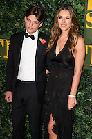 Liz Hurley and son, Damian<br /> at the Evening Standard Theatre Awards 2016, Old Vic Theatre, London.<br /> <br /> <br /> ©Ash Knotek  D3197  13/11/2016