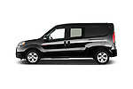 Car Driver side profile view of a 2017 Ram Promaster City SLT 5 Door Mini Mpv Side View